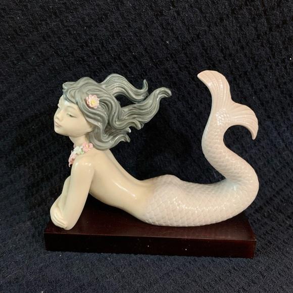 Lladro Mermaid Figurine Fantasy